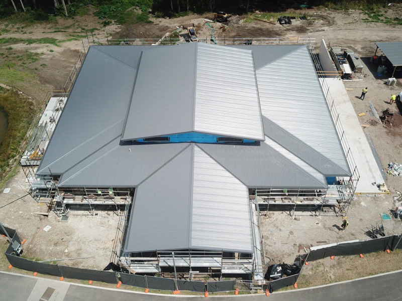 Roofing for Large commercial buildings